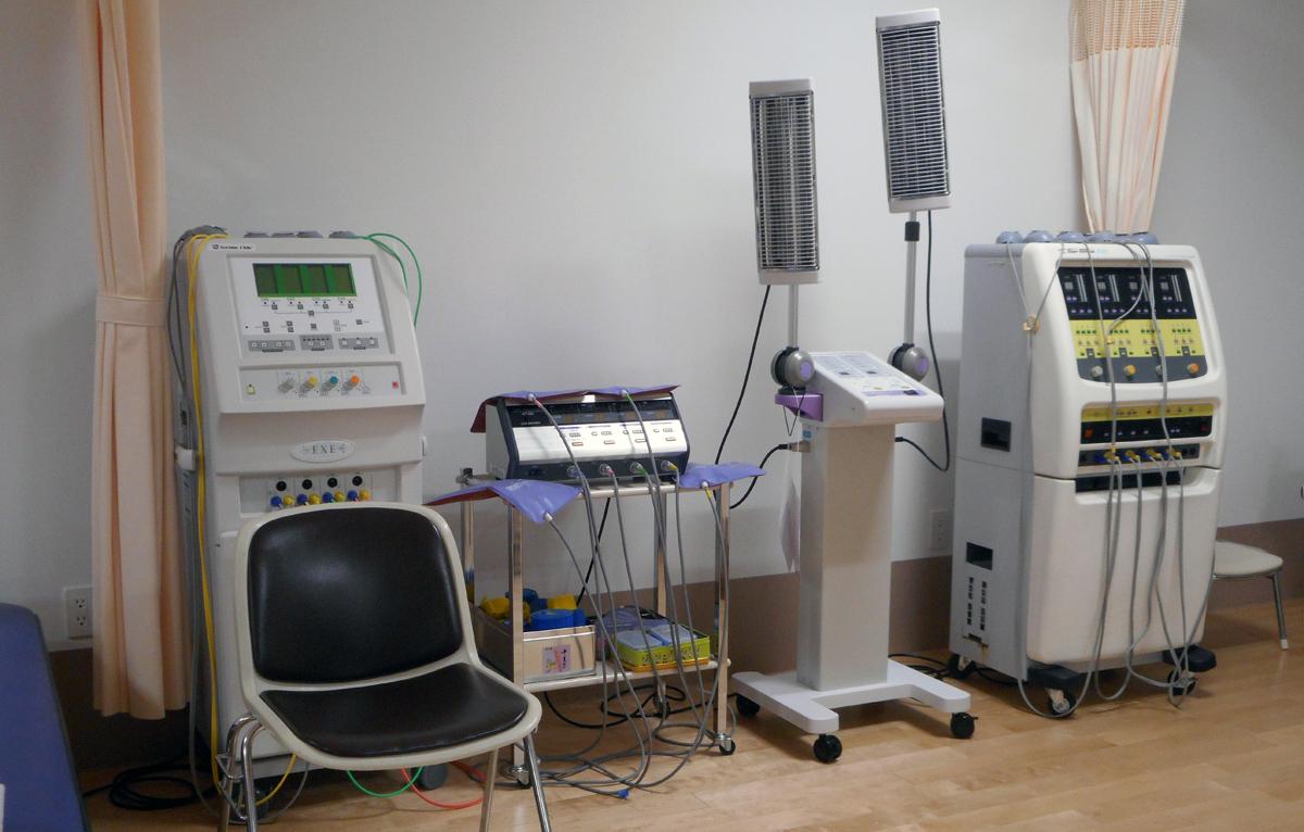 物理療法スペース   医療法人正弘会 南折立病院 リハビリテーション